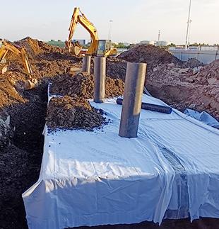 泰州高港區中海油停車場雨水收集系統項目