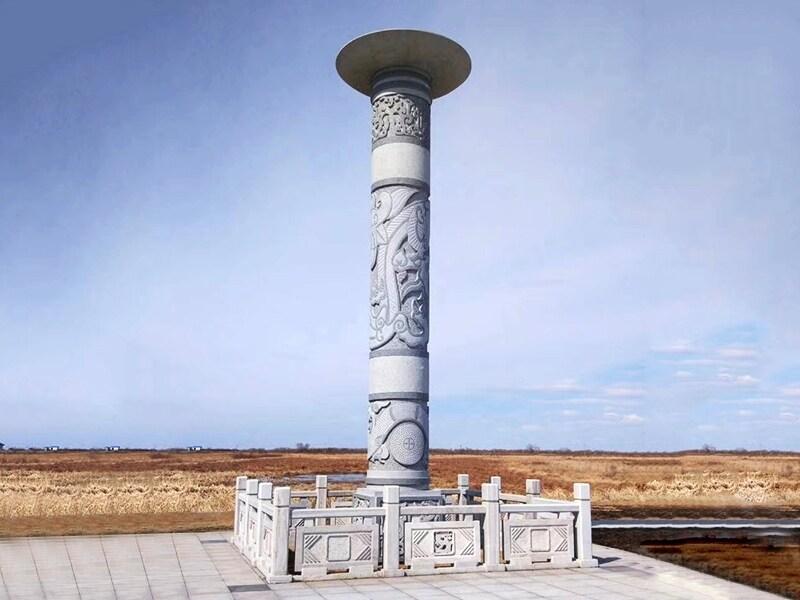 河北石雕龍柱