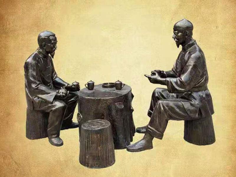 山西民俗文化雕塑