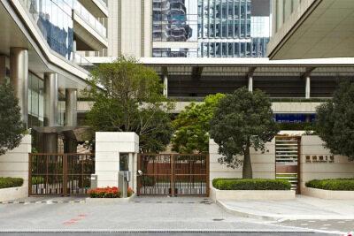 深圳灣1號小區全銅庭院門